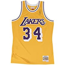 Mitchell & Ness Lakers Shaquille Oneal 34 Camiseta Sin Mangas