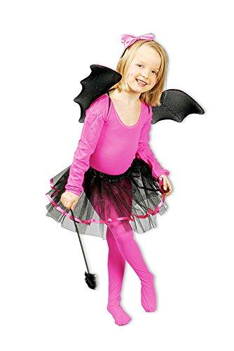 Kostüm Set Fledermäuschen Mädchen Fledermaus