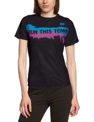 Sugoi I Run This Town T-shirt pour femme Noir - noir