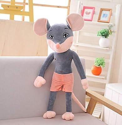 WHKJ Año de la Rata Mascota Pareja Sexy Ratón Muñeca Peluches Niños Creativos Muñecas reconfortantes Navidad Día de San Valentín Regalo de cumpleaños 50cm de WHKJ