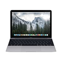 Apple MacBook Laptop - Intel Core M, 1.2 GHz Dual Core, 12 Inch, 512GB, 8GB, Space Grey, Early 2015, MJY42