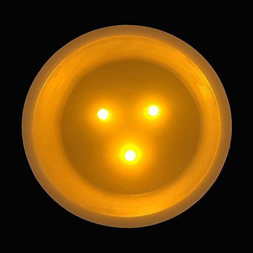 XXL de cera de LED de 3mecha Vela (con temporizador automático de modo de