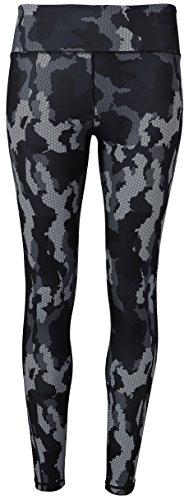Workwear World - Legging de sport - Femme Camo Charcoal