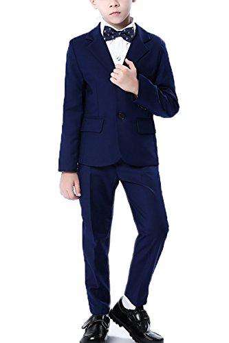 Anzug Jungen 3 Stück (FOLOBE Jungen Formelle Anzüge Hochzeit Outfit PageBoy Party Prom 3 Stück Anzug)