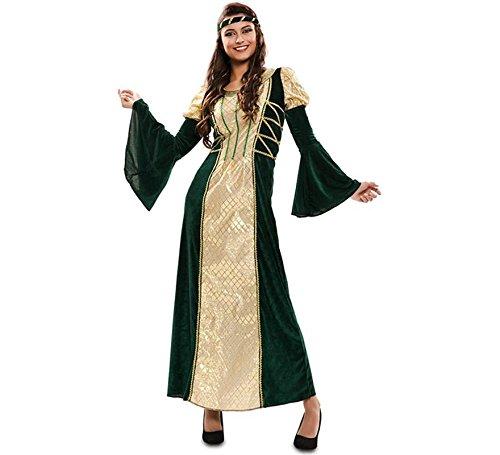 Costume da Dama Medievale Esmeralda per donna M/L