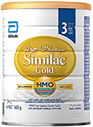 Similac Gold 3 HMO Growing-Up Formula Milk For 1-3 Years Old, 1600g