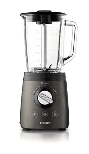 Philips Avance Collection HR2196/08   Batidora  900 W  jarra de cristal de 2 litros  con espátula  función para picar hielo