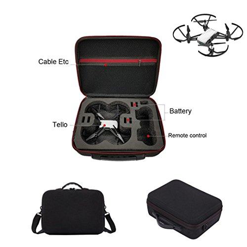 Interne Tasche Filter (Hunpta Umhängetasche Case Protector EVA Interne Wasserdicht Für DJI TELLO Drone (Schwarz))