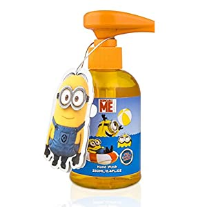 Pack of 3 Despicable Me Minions Giggling Sound Liquid Hand Wash 250 ml each