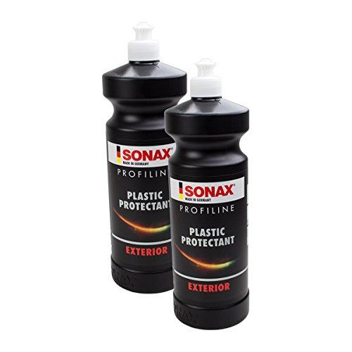 SONAX 2X 02103000 PROFILINE Plastic Protectant Exterior KunststoffPflege 1L