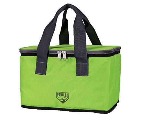 Best_way pavillotm quellor 9l cooler bag borsa frigo, 19,5x 26x 16,5cm, colore: verde