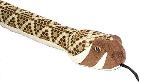 Snakesss Plüschtier Texas - Klapperschlange, braune Schlange, Kuscheltier ca. 137