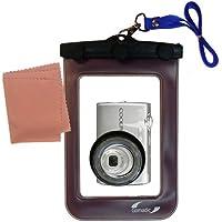 La pochette étanche Clean and Dry conçue pour l'appareil photo Nikon Coolpix S220