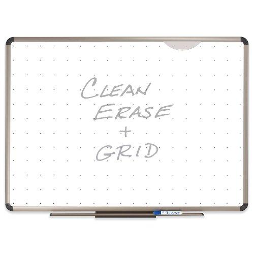Quartet Euro insgesamt Prestige Erase Whiteboard, 4 x 0.91 meters, Aluminium/Titan TE564T (,)