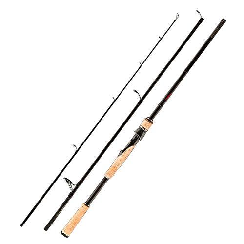 Margot-Charismatic-Shop Fishing Rods Angelruten 3-teilige Köderrute für Reisen, Ultraleicht, Spinnköder 5G-40G M/ML/Mh, 2.чм 15г-40г -