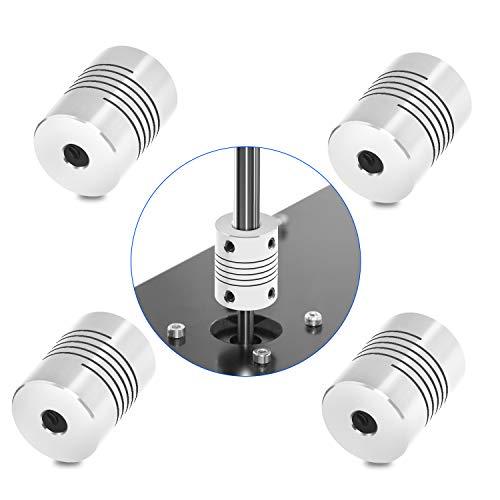 Usongshine 4 STÜCKE Flexible Kupplungen 5mm bis 5mm NEMA 17 Welle für RepRap 3D Drucker oder CNC Maschine