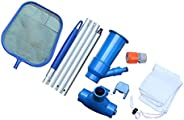 KKmoon Swimming Pool Cleaning Kit Water Vacuum Suction Head Skimmer Net Maintenance Tools