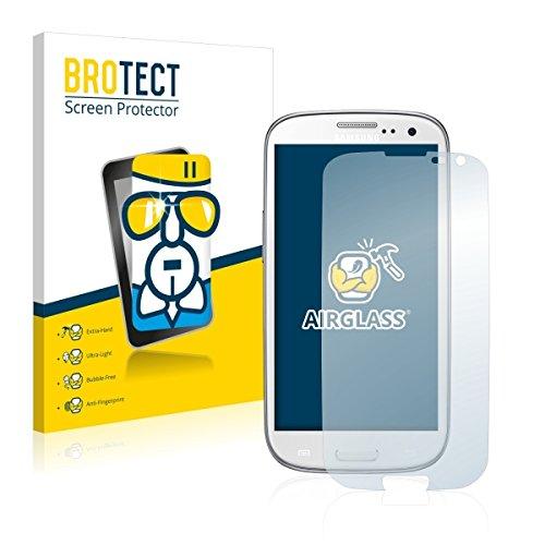 BROTECT AirGlass Premium Glasfolie für Samsung GT-I9301I (extrahart, ultradünn, hochtranzparent, Anti-Fingerprint, flexibel)