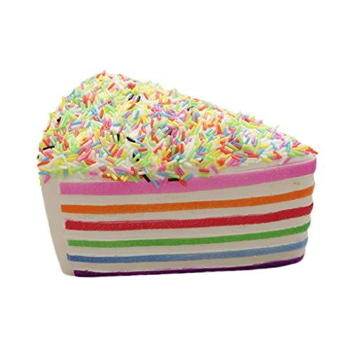 Dergtgh PU Kunst Kuchen Gefälschte Dessert Beispielmodell Fotografie Props Hauptdekoration Kinderspielzeug