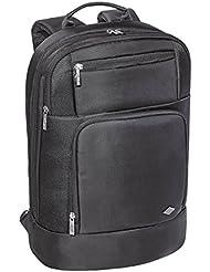 Wedo Business Sac à dos avec 2 Compartiments de protection pour Ordinateur Portable/Tablette Noir