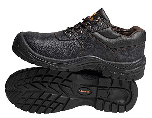 2a0f724f7952b Mens Safety Shoes Work Safety Boots Steel Toe Boots Steel Toe Cap Shoes  Waterproof Work Shoes Non Slip Oil Resistant Work Shoes Kitchen Safety  Shoes ...