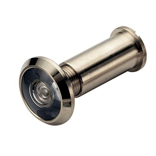 Spion Türspion Weitwinkel 180° Satin Farbe Sicherheit Türs 50-75