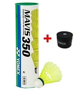 Yonex Mavis 350 Nylon Badminton Combo (Green)