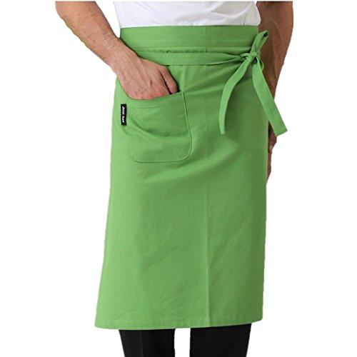 Unisex delantal camarero cocina bridas cintura horno