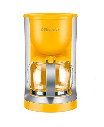 Electrolux EKF3130 Libera installazione Macchina da caffè con filtro 1.4L 10tazze Argento, Giallo