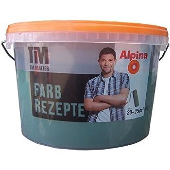 ALPINA Farbe Tim Mälzer Farbrezepte 2,5 L. Zauberwald