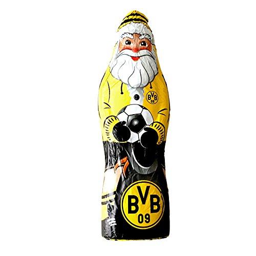 Borussia Dortmund Schokoladennikolaus, Schwarzgelb, 150g, BVB-Emblem one size