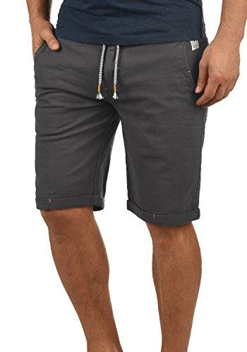 Redefined Rebel Molachi Herren Chino Shorts Bermuda Kurze Hose Aus Stretch-Material Regular Fit, Größe:XL, Farbe:Forged Iron