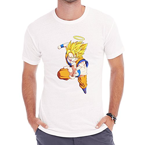 Dragon Ball Z Goku Reaching For Something Herren T-Shirt Weiß