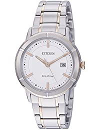 Citizen Eco-Drive Analog White Dial Men's Watch-AW1084-51A