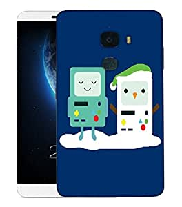 Snoogg Snow Game Designer Protective Back Case Cover For LETV LE MAX 2