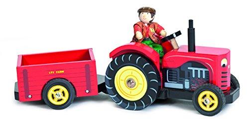 Le Toy Van Berties Traktor - Rote Kleinkinder Vans