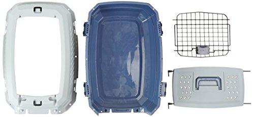 AmazonBasics Transportbox für Haustiere, 2 Türen, 1 Dachöffnung, 58cm - 10