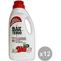 Set 12 BAKTERIO Igienizzanti Frutta-Verdura 1 Lt. Desinfektionsmitteln preisvergleich bei billige-tabletten.eu