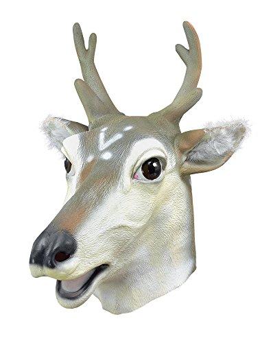 Bristol Novelty bm272Hirsch/deer Maske, eine Größe
