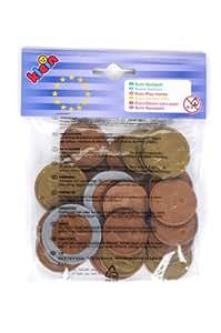 Klein - 9610 - Jeu d'Imitation - Pièces de Monnaie en Euros, sous Sachet