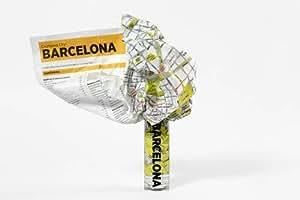 Barcelona Crumpled City Map (Crumpled City Maps)
