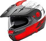 Schuberth E1Crossfire rojo casco de moto
