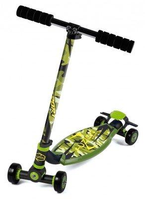 city-scooter-fuzion-sport-camo-alu-schwarz-grun