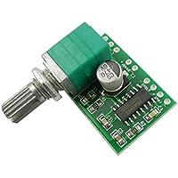 Aihasd PAM8403 Mini 5V poder digital Amplificador de audio Tablero módulo 2 Canales 3W Control del volumen Con Potenciómetro de Interruptor