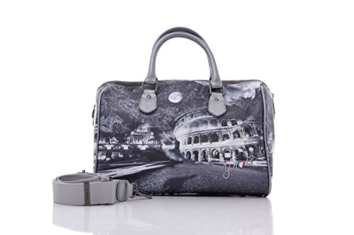 Y NOT? BORSA DONNA BOSTON BAG MEDIUM I-318 Moonlight