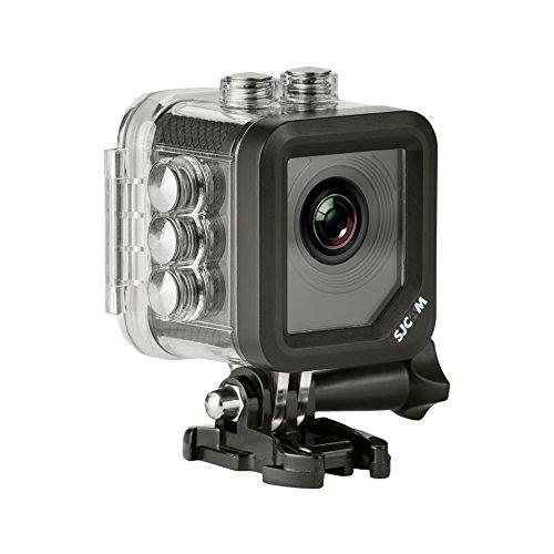 """SJCAM M10 (versión española)- Videocámara deportiva (LCD 1.5"""", 1080p, 30 fps, sumergible hasta 30 m), color plata"""
