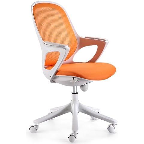 Amstyle Maglo - Sedia girevole da ufficio con rivestimento WinTex,