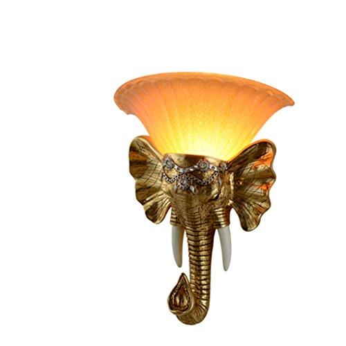 Guo Lampe européenne mur Personnalité Créative Chambre Lampe de chevet Applique Salon Balcon Aisle Escaliers Applique