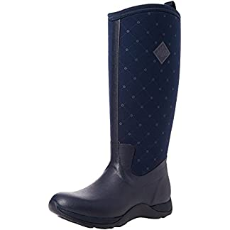 Muck Boots Women's Arctic Adventure (Quilted Print) Wellington Boots 9