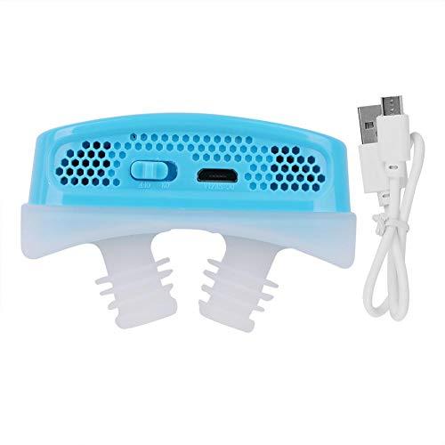 Dispositivos de filtro anti ronquidos, USB recargable 2 en 1, reduce los ronquidos continuos positivo...